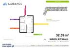 Mieszkanie w inwestycji Murapol Zielona Toskania, Wrocław, 33 m² | Morizon.pl | 3849 nr2