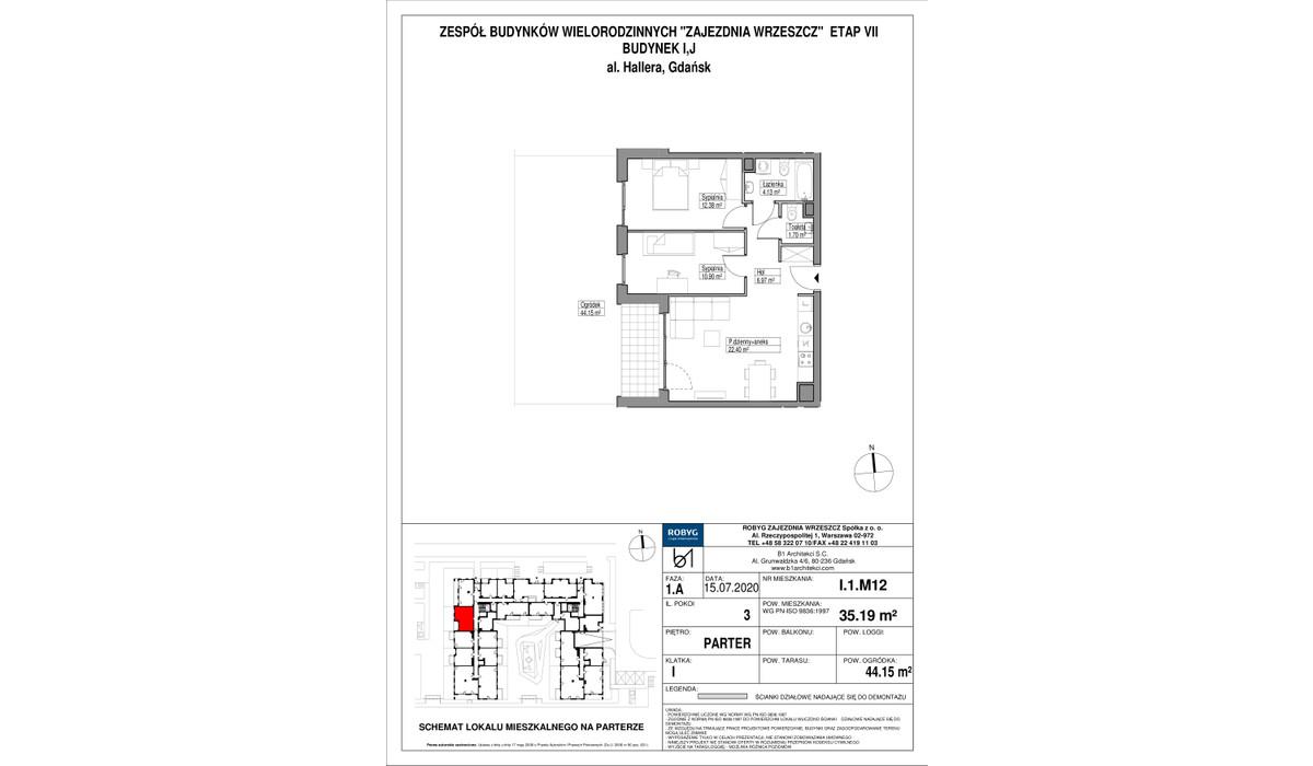 Mieszkanie w inwestycji Zajezdnia Wrzeszcz, Gdańsk, 60 m² | Morizon.pl | 2279