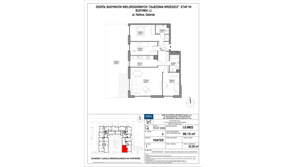 Mieszkanie w inwestycji Zajezdnia Wrzeszcz, Gdańsk, 99 m² | Morizon.pl | 2305