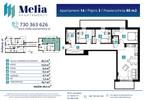 Mieszkanie w inwestycji Melia Apartamenty II, Łódź, 80 m² | Morizon.pl | 6101 nr2