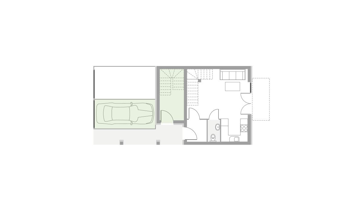 Dom w inwestycji Domy Dachowa, Dachowa, 73 m² | Morizon.pl | 9660