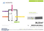 Mieszkanie w inwestycji Murapol Zielona Toskania, Wrocław, 36 m² | Morizon.pl | 7050 nr2