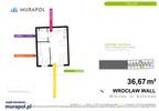 Mieszkanie w inwestycji Murapol Zielona Toskania, Wrocław, 37 m² | Morizon.pl | 7128 nr2