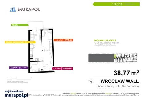 Mieszkanie na sprzedaż <span>Wrocław, Jagodno, ul. Buforowa</span> 1