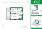 Mieszkanie w inwestycji TRIOKraków, Kraków, 36 m² | Morizon.pl | 1103 nr2