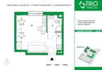 Mieszkanie w inwestycji TRIOKraków, Kraków, 22 m² | Morizon.pl | 2669 nr2