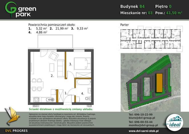 Mieszkanie w inwestycji Nowe Apartamenty Green Park, Bielsko-Biała, 42 m²   Morizon.pl   2638