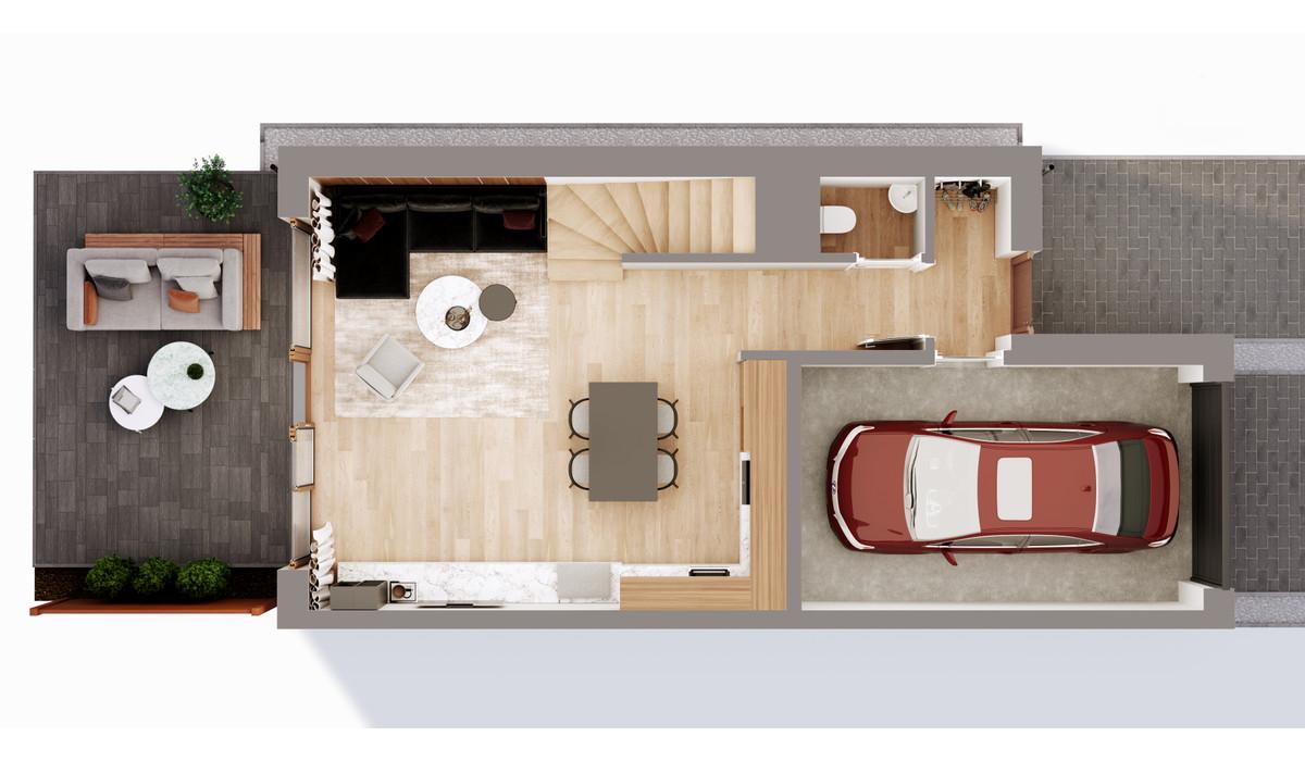 Mieszkanie w inwestycji Chmielowice Apartamenty, Chmielowice, 103 m² | Morizon.pl | 2342
