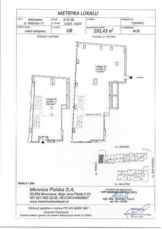 Lokal usługowy w inwestycji Pasaż Mennica Residence, Warszawa, 293 m² | Morizon.pl | 0292