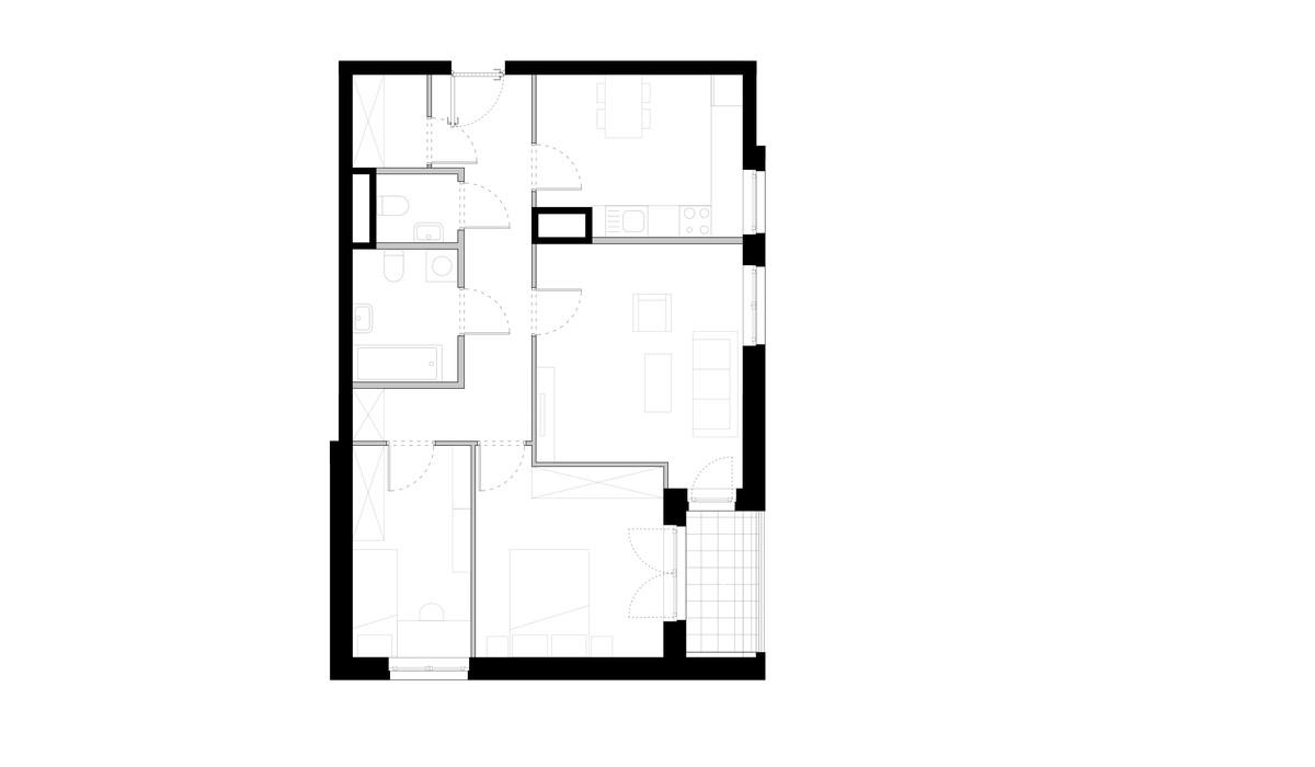 Mieszkanie w inwestycji ZAKĄTEK CYBISA, Warszawa, 75 m²   Morizon.pl   4193