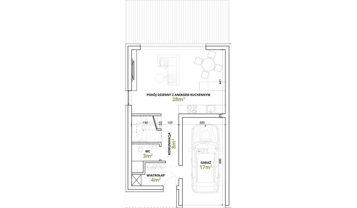 Dom w inwestycji Osiedle Magnice Etap II, Magnice, 121 m²   Morizon.pl   5351
