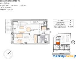 Morizon WP ogłoszenia | Mieszkanie na sprzedaż, Białystok Antoniuk, 37 m² | 6727