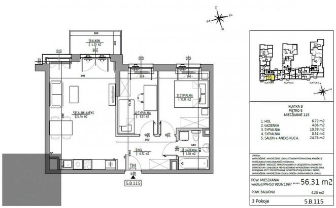 Morizon WP ogłoszenia | Mieszkanie na sprzedaż, Warszawa Bemowo, 56 m² | 5848