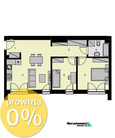 Morizon WP ogłoszenia | Mieszkanie na sprzedaż, Rzeszów Drabinianka, 55 m² | 4595