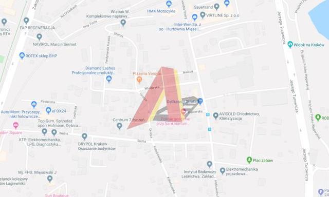 Budowlany na sprzedaż <span>Kraków, Podgórze, Łagiewniki, Sucha</span>