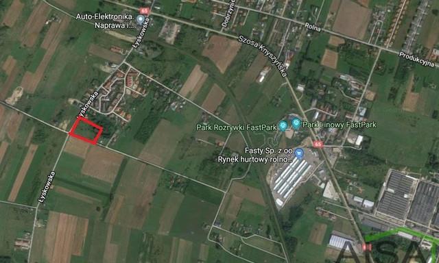 Działka na sprzedaż <span>Białystok, Fasty</span>