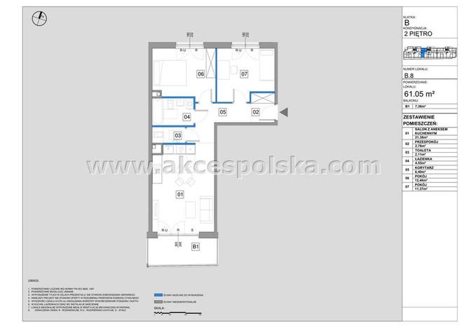 Morizon WP ogłoszenia | Mieszkanie na sprzedaż, Warszawa Sielce, 61 m² | 3916