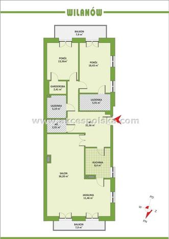 Morizon WP ogłoszenia | Mieszkanie na sprzedaż, Warszawa Powsinek, 123 m² | 3915