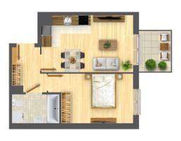 Morizon WP ogłoszenia | Mieszkanie w inwestycji Nowa Myśliwska, Kraków, 39 m² | 5690