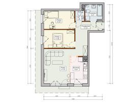 Morizon WP ogłoszenia   Mieszkanie na sprzedaż, Wrocław Wojnów, 66 m²   5496