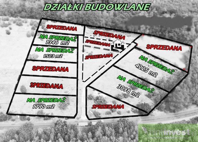 Morizon WP ogłoszenia   Działka na sprzedaż, Miłowo, 1503 m²   7021