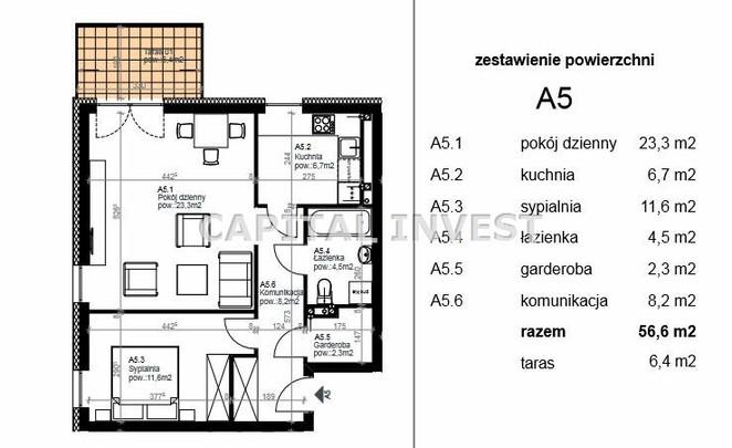 Morizon WP ogłoszenia | Mieszkanie na sprzedaż, Zabrze, 57 m² | 0362