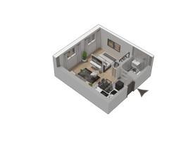 Morizon WP ogłoszenia | Mieszkanie w inwestycji KW51, Kraków, 29 m² | 1286