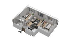 Morizon WP ogłoszenia | Mieszkanie w inwestycji KW51, Kraków, 42 m² | 1295