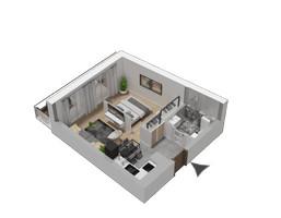 Morizon WP ogłoszenia | Mieszkanie w inwestycji KW51, Kraków, 32 m² | 1230