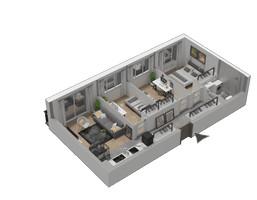 Morizon WP ogłoszenia | Mieszkanie w inwestycji KW51, Kraków, 43 m² | 1250
