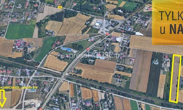 Budowlany na sprzedaż <span>Lublin, Węglinek, Folwarczna</span>