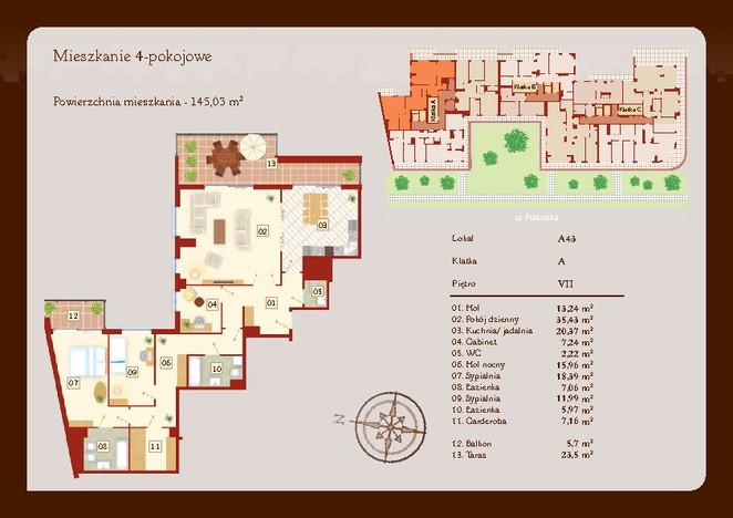 Morizon WP ogłoszenia   Mieszkanie w inwestycji Puławska 111, Warszawa, 146 m²   2657