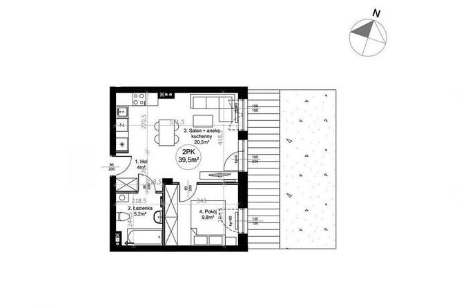 Morizon WP ogłoszenia | Mieszkanie na sprzedaż, Łódź Górna, 40 m² | 7437