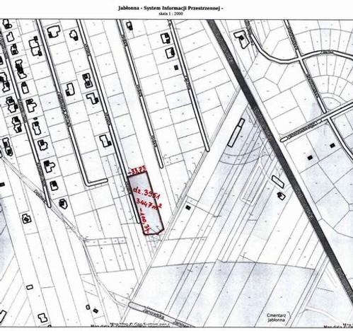 Morizon WP ogłoszenia | Działka na sprzedaż, Jabłonna, 3447 m² | 8445