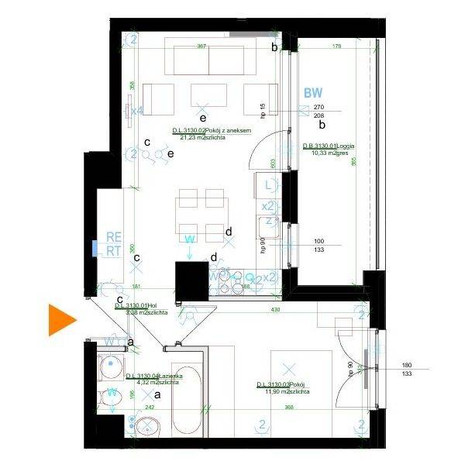 Morizon WP ogłoszenia | Mieszkanie na sprzedaż, Warszawa Mokotów, 41 m² | 7108