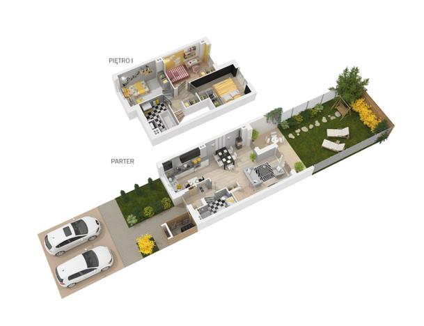 Morizon WP ogłoszenia   Dom w inwestycji Osiedle Dąbrówka - Leśna Polana w Dop..., Dopiewiec, 75 m²   7486