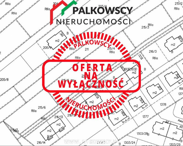 Morizon WP ogłoszenia | Działka na sprzedaż, Bibice, 850 m² | 0434