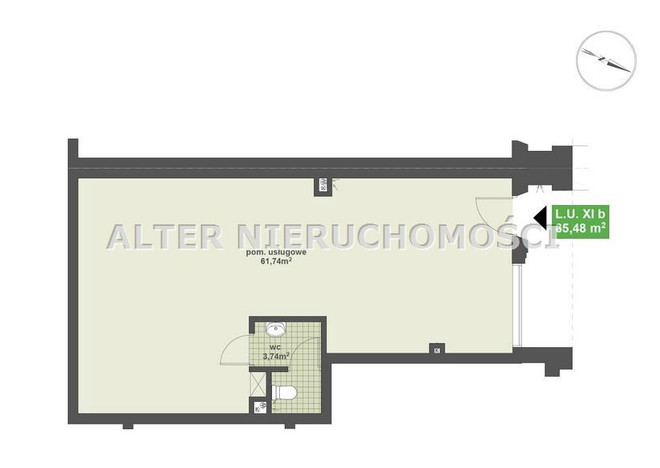 Morizon WP ogłoszenia | Lokal na sprzedaż, Białystok Nowe Miasto, 65 m² | 4794