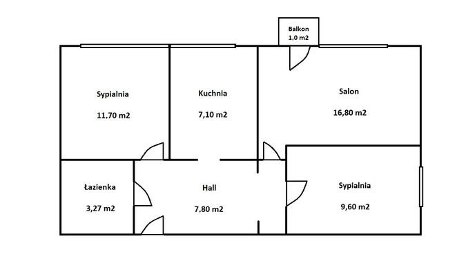 Morizon WP ogłoszenia | Mieszkanie na sprzedaż, Warszawa Piaski, 56 m² | 3840
