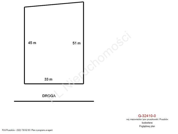Morizon WP ogłoszenia   Działka na sprzedaż, Pruszków, 1540 m²   5889