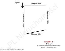 Morizon WP ogłoszenia | Działka na sprzedaż, Duchnice, 7000 m² | 7582