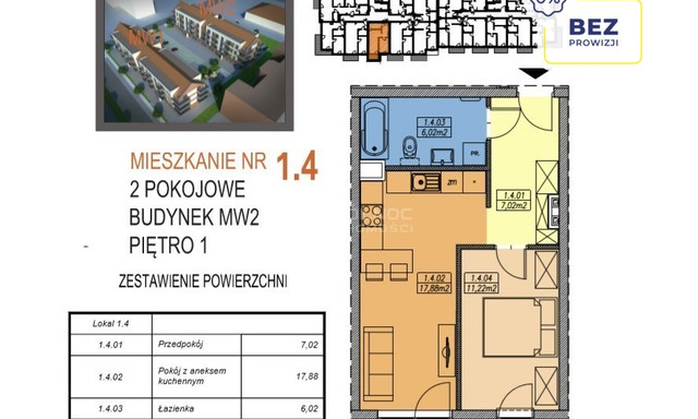 Mieszkanie na sprzedaż <span>Legnica, Stefana Batorego</span>