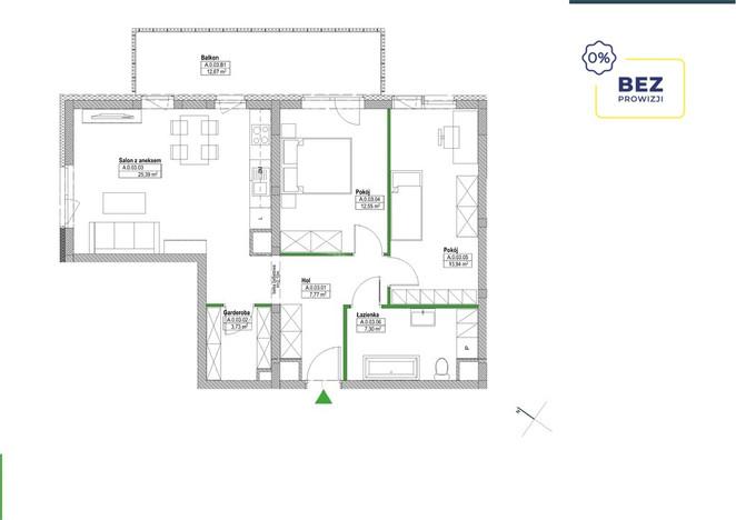 Morizon WP ogłoszenia | Mieszkanie na sprzedaż, Warszawa Białołęka, 71 m² | 7217