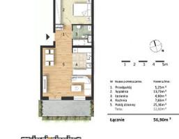 Morizon WP ogłoszenia | Mieszkanie w inwestycji Osiedle Słoneczne, Bydgoszcz, 57 m² | 9315