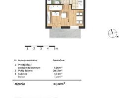 Morizon WP ogłoszenia | Mieszkanie w inwestycji Osiedle Słoneczne, Bydgoszcz, 33 m² | 9303