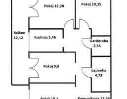 Morizon WP ogłoszenia | Mieszkanie na sprzedaż, Kraków Os. Ruczaj, 68 m² | 4787