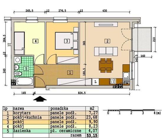 Morizon WP ogłoszenia | Mieszkanie na sprzedaż, Rzeszów Słocina, 53 m² | 5818