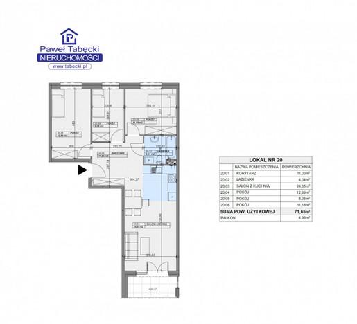 Morizon WP ogłoszenia | Mieszkanie na sprzedaż, Ząbki Gajowa, 72 m² | 8375