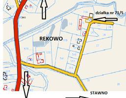 Morizon WP ogłoszenia | Działka na sprzedaż, Rekowo, 432 m² | 5808