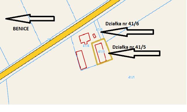 Działka na sprzedaż <span>Kamieński (Pow.), Kamień Pomorski (Gm.), Benice</span>